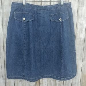 Marsh Landing Blues Jean Skirt. Size16 E205